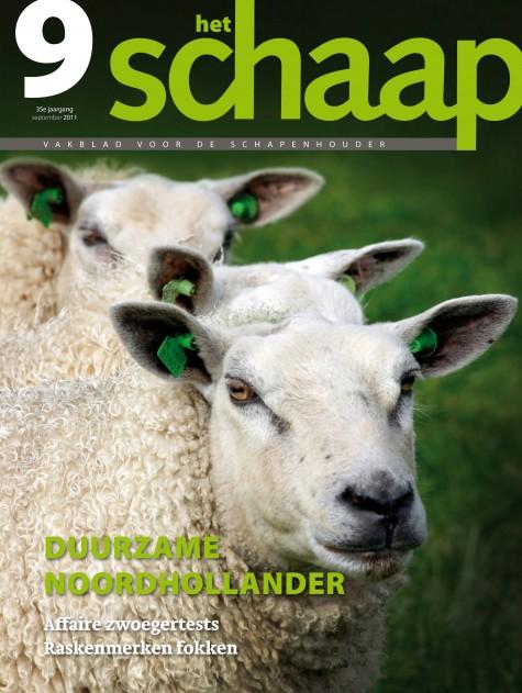 cover vakblad Het Schaap september 2011