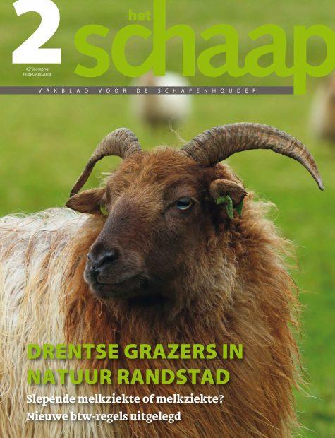 vakblad Het Schaap cover februari 2018