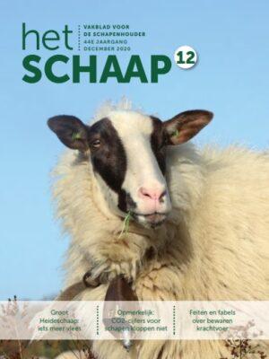 vakblad Het Schaap cover december 2020